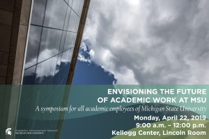 2019 Academic Advancement Network Spring Symposium @ Location: Kellogg Center, Lincoln Room | East Lansing | Michigan | United States